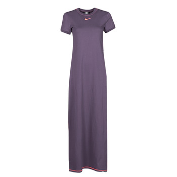 Clothing Women Long Dresses Nike NSICN CLSH MAXI DRESS Purple / Orange