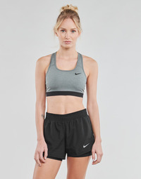 Clothing Women Sport bras Nike DF SWSH BAND NONPDED BRA Grey / Black