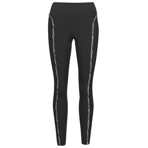 Clothing Women Leggings Nike NIKE ONE LUXE ICNCLSH TGT Black / Purple