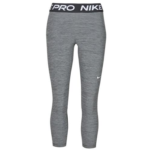 Clothing Women Leggings Nike NIKE PRO 365 TIGHT CROP Grey / White