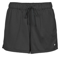 Clothing Women Shorts / Bermudas Nike DF ATTACK SHRT Black / White