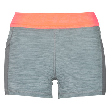 Clothing Women Shorts / Bermudas Nike NIKE PRO 3IN SHORT FEMME NVLTY PP2 Grey / Orange / White