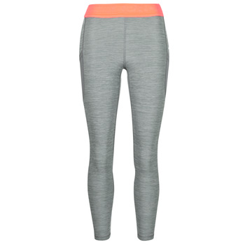 Clothing Women Leggings Nike NIKE PRO TIGHT 7/8 FEMME NVLTY PP2 Grey / Orange / White