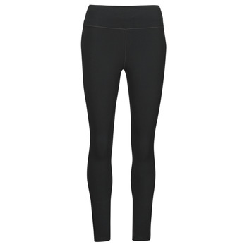 Clothing Women Leggings Nike ONE DF MR 7/8 TGT Black / White