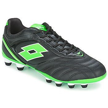 Shoes Men Football shoes Lotto STADIO P VI 300 FG Black / Green