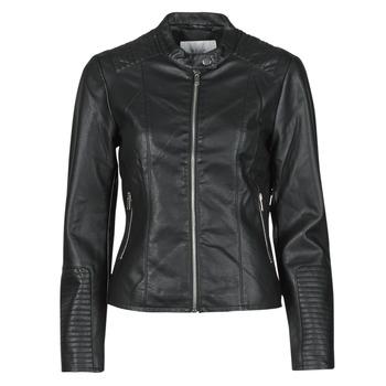 Clothing Women Leather jackets / Imitation leather Vila VIBLUE Black