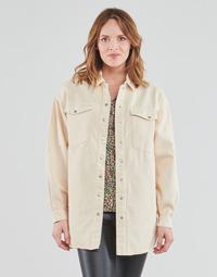 Clothing Women Jackets / Blazers Vila VIDERESSA Beige