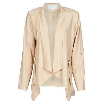 Clothing Women Jackets / Blazers Vila VIADIE Beige