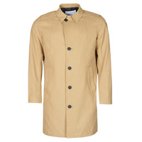 Clothing Men Coats Selected SLHNEW TIMES Beige