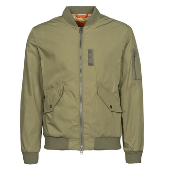 Clothing Men Jackets Selected SLHSUSTAINABLE ICONICS BOMBER Kaki