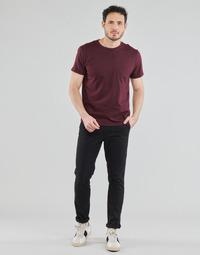 Clothing Men Chinos Selected SLHSLIM-MILES FLEX Black