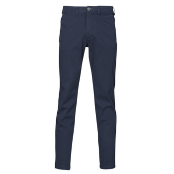 Clothing Men Chinos Selected SLHSLIM-MILES FLEX Marine