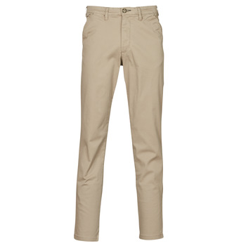 Clothing Men Chinos Selected SLHSLIM-MILES FLEX Beige