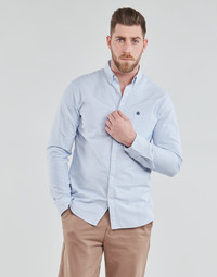 Clothing Men Long-sleeved shirts Selected SLHREGCOLLECT Blue