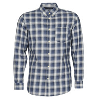 Clothing Men Long-sleeved shirts Selected SLHSLIMCLAYTON Marine