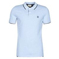 Clothing Men Short-sleeved polo shirts Selected SLHNEWSEASON Blue / Clear