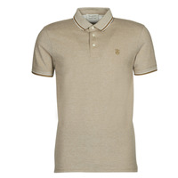 Clothing Men Short-sleeved polo shirts Selected SLHTWIST Beige