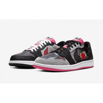 Shoes Low top trainers Nike Air Jordan 1 Low Chinese New Year Black/Grey/Pink