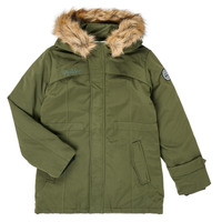 Clothing Boy Parkas Redskins  Kaki