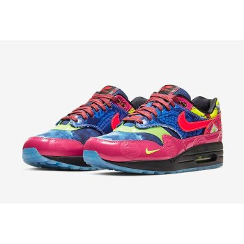 Shoes Low top trainers Nike Air Max 1 CNY Longevity Game Royal/Laser Crimson