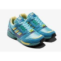 Shoes Low top trainers adidas Originals ZX 8000 Light Aqua  Light Aqua/Sand