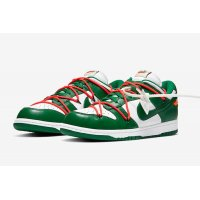 Shoes Low top trainers Nike SB Dunk Low x Off White Pine Green White/Pine Green/Pine Green