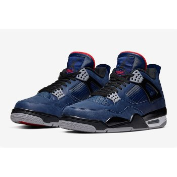 Shoes Low top trainers Nike Air Jordan 4 WNTR Loyal Blue Loyal Blue/White-Habanero Red-Black