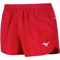 Clothing Women Shorts / Bermudas Mizuno Short femme  Premium JPN Split rouge/rouge