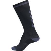 Shoe accessories Children Sports socks Hummel Chaussettes  elite indoor high noir/gris foncé