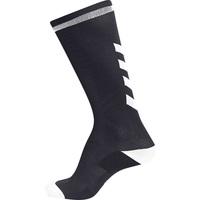 Shoe accessories Children Socks Hummel Chaussettes  elite indoor high noir/blanc