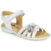Shoes Girl Sandals Citrouille et Compagnie HERTUNE White