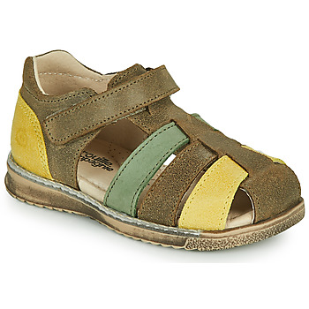 Shoes Boy Sandals Citrouille et Compagnie FRINOUI Kaki