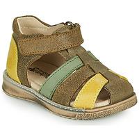 Shoes Boy Sandals Citrouille et Compagnie FRINOUI Kaki