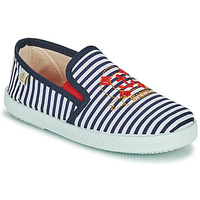 Shoes Boy Low top trainers Citrouille et Compagnie OCILO Marine