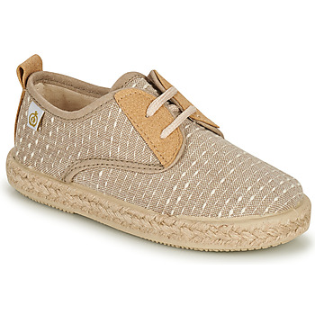 Shoes Boy Low top trainers Citrouille et Compagnie ONEO Beige