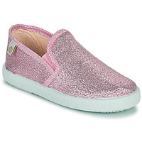 Shoes Girl Flat shoes Citrouille et Compagnie OBILA Pink