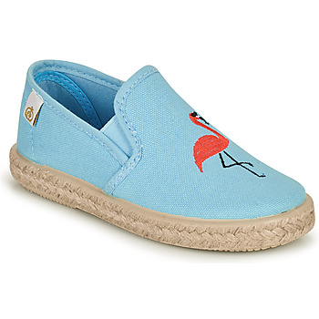 Shoes Girl Flat shoes Citrouille et Compagnie OSARA Blue / Sky