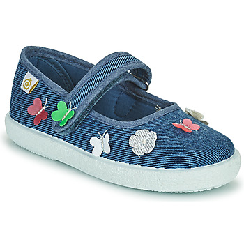 Shoes Girl Flat shoes Citrouille et Compagnie OXINA Jeans