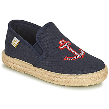 Shoes Children Flat shoes Citrouille et Compagnie OPASTA Blue