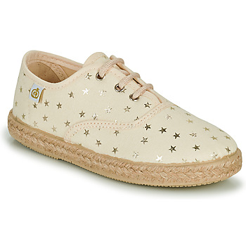 Shoes Girl Low top trainers Citrouille et Compagnie OWAZA Gold