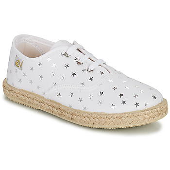 Shoes Girl Low top trainers Citrouille et Compagnie OUAKA Silver