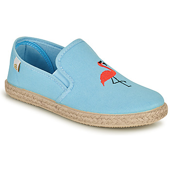 Shoes Girl Flat shoes Citrouille et Compagnie OSARA Blue / Sky