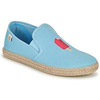 Shoes Girl Flat shoes Citrouille et Compagnie OCELESTE Blue / Sky