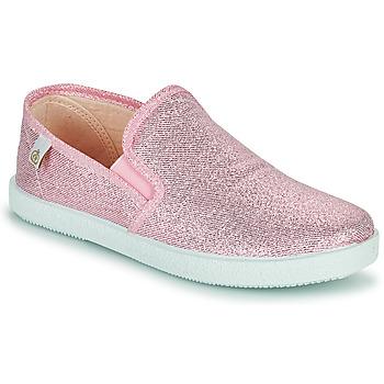 Shoes Girl Flat shoes Citrouille et Compagnie OBILA Pink