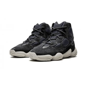 Shoes Low top trainers adidas Originals Yeezy 500 High Slate Slate/Slate/Slate