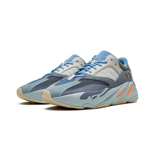 Shoes Low top trainers adidas Originals Yeezy 700 V2 Carbon Blue Carbon Blue/Carbon Blue/Carbon Blue