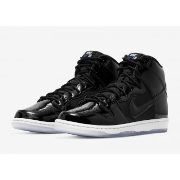 Shoes Low top trainers Nike SB Dunk High Space Jam Black/Black-Concord-White