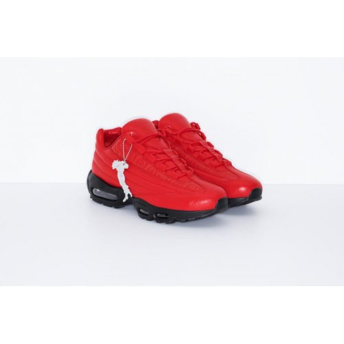 Shoes Low top trainers Nike Air Max 95 Lux x Supreme Red UNIVERSITY RED/UNIVERSITY RED-BLACK