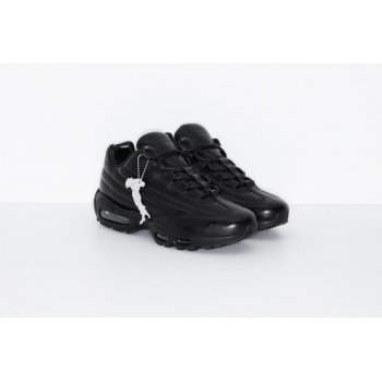 Shoes Low top trainers Nike Air Max 95 Lux x Supreme Black BLACK/BLACK-BLACK