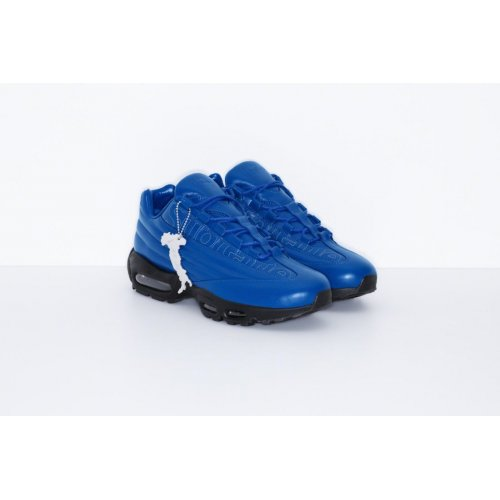 Shoes Low top trainers Nike Air Max 95 Lux x Supreme Blue GAME ROYAL/GAME ROYAL-BLACK